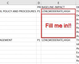 NIST 800-53 Rev 4 Excel – filtered like a fine aged whiskey