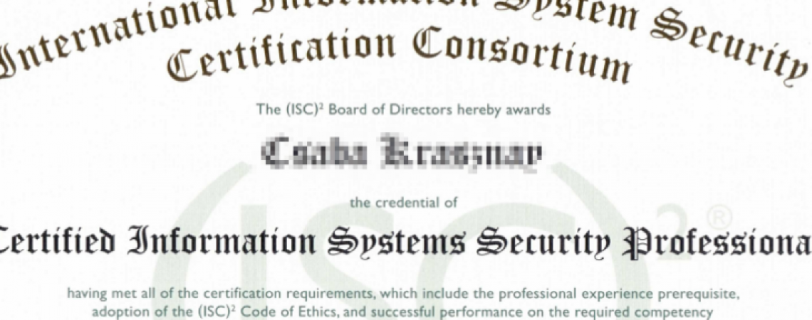 Passed the CISSP – Here is how I did it
